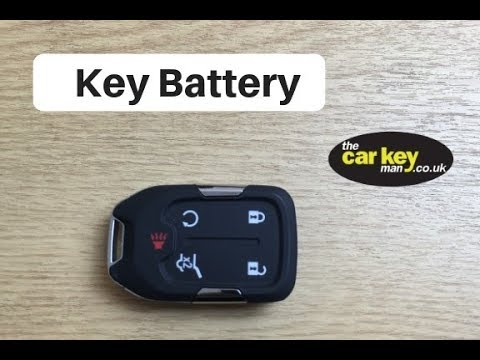 Gmc Acadia Key Battery Change How To 2017 Keyless Youtube
