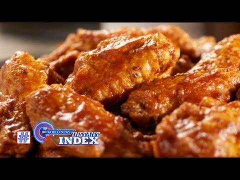 Instant Index: Chicken Wing Shortage; Rare JFK Pictures