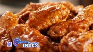 Instant Index: Chicken Wing Shortage; Rare Jfk Pictures