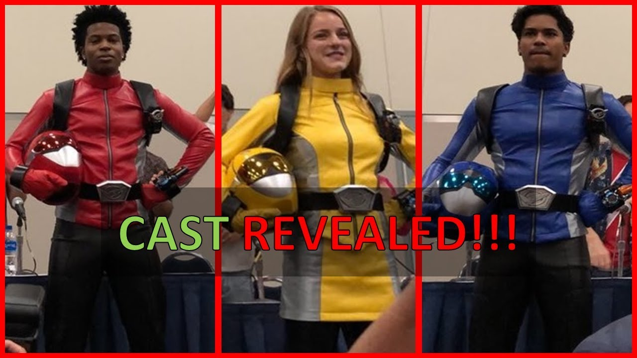 New Power Rangers Cast 2019 Power Rangers Beast Morphers Casts Revealed at Power Morphicon