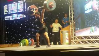 kianoush rostami world record 220kg @85 1st Fajr cup - iwf grand prix