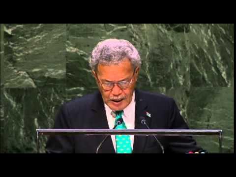 Tuvalu - Débat 2014 de l'Assemblée générale de l'ONU