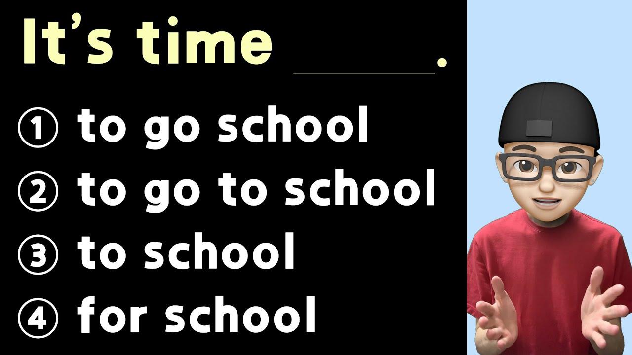 기초영어 ㅣ 영어 문장 완성 시키기 ㅣ It's time ~.