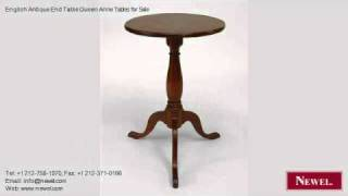English Antique End Table Queen Anne Tables For Sale