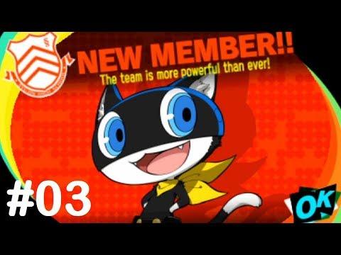 Persona Q2 (Risky) - Part #03: Morgana Jumps In ~ 2nd Avenue