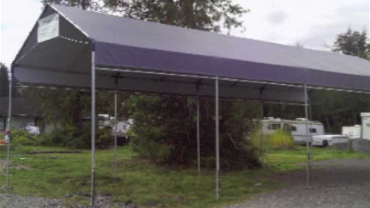 Carports For Sale From Aluminum or Steel Metal to Portable Carport Canopy Cover Tent Kits Cheap - YouTube & Carports For Sale From Aluminum or Steel Metal to Portable Carport ...
