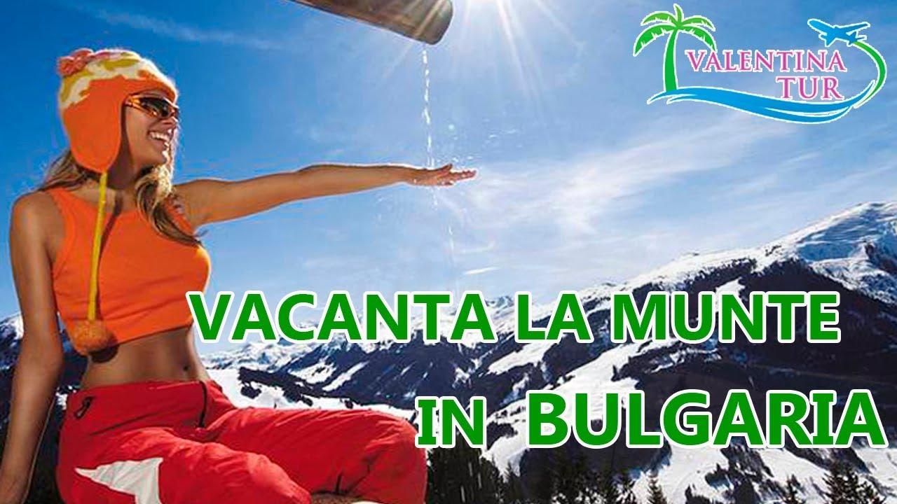 VACANTA LA MUNTE IN BULGARIA