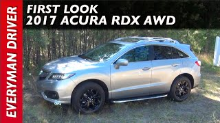 Here's the 2017 Acura RDX AWD on Everyman Driver