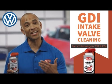 Intake Valve Cleaning Volkswagen CRC GDI IVD® Intake Valve & Turbo Cleaner