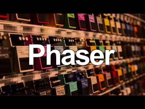 Guitarra com Phaser, como é o som?