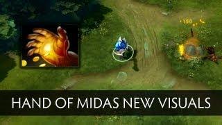 Dota 2 Hand of Midas New Visuals