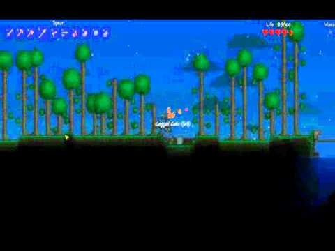 How to make a nightmare pickaxe in terraria, shadow maker