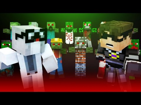 ZOMBIE OUTBREAK! | Minecraft Roleplay [The Mo Zombies Mod]