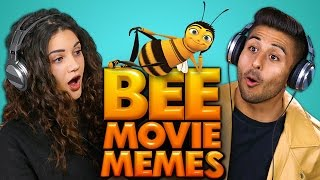 Repeat youtube video BEE MOVIE MEMES | COLLEGE KIDS REACT