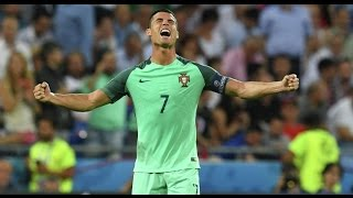 РОНАЛДУ ВЫИГРАЛ ЕВРО (Португалия - Франция 1:0, финал Евро-2016)