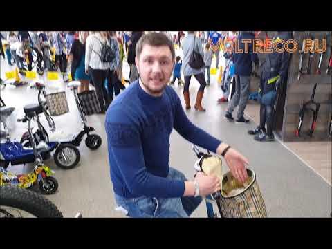 Электросамокат с сиденьем Voltrix Twix скутер для двоих Обзор Voltreco.ru