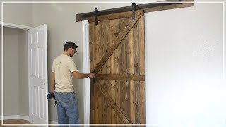 Build A Sliding Barn Door