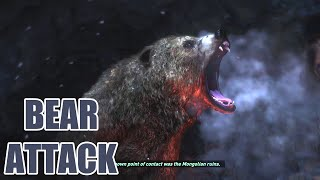 Rise of the Tomb Raider - Bear Attack