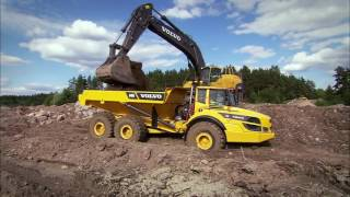 Volvo G series Articulated haulers promotional video