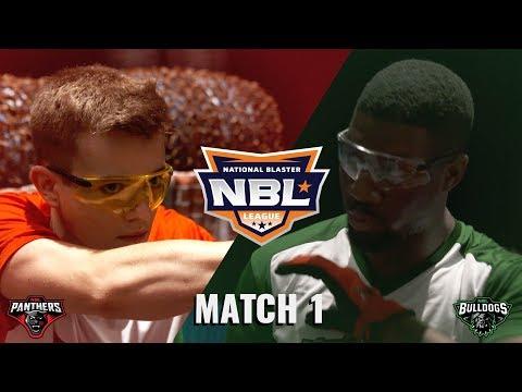 PDK Battles BULLDOGS with NERF N-STRIKE MEGA SERIES | NBL 2018 | MATCH 1