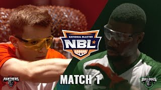 PDK Battles BULLDOGS with NERF N-STRIKE MEGA SERIES | NBL 2018 | MATCH 1