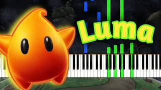 Luma Rosalina 39 S Storybook Super Mario Galaxy Synthesia
