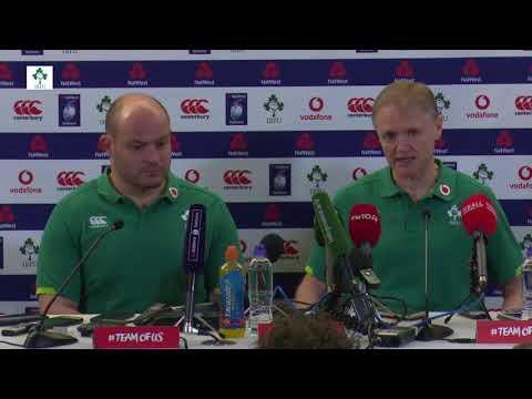 Ireland vs. Scotland - Post Match Press Conference (Six Nations 2018)