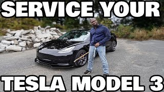 Servicing your Tesla model 3: The Complete Guide