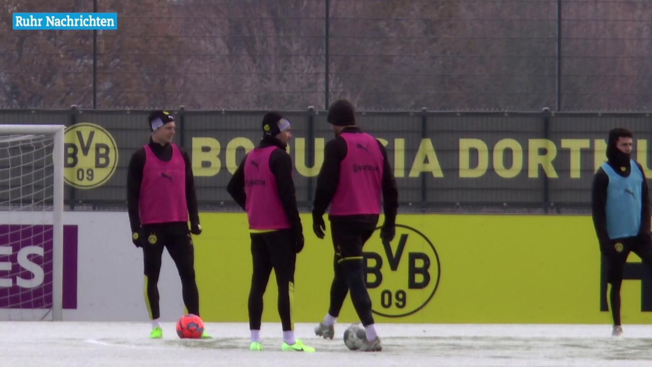 BVB-Training am Tag nach dem Spiel in Berlin