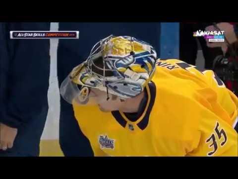 2018 NHL All Star Skill Competition Barkov & Rinne