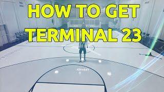 HOW TO GET THE TERMINAL 23 MYCOURT IN NBA 2K16!! (EASY)