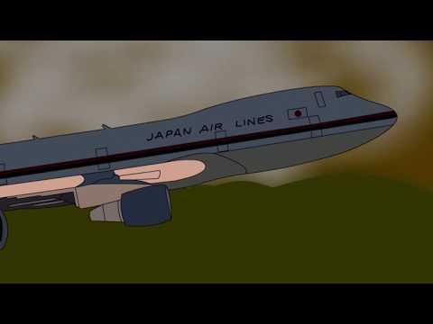 Japan Airlines Flight 123 Crash Short Animation 2D
