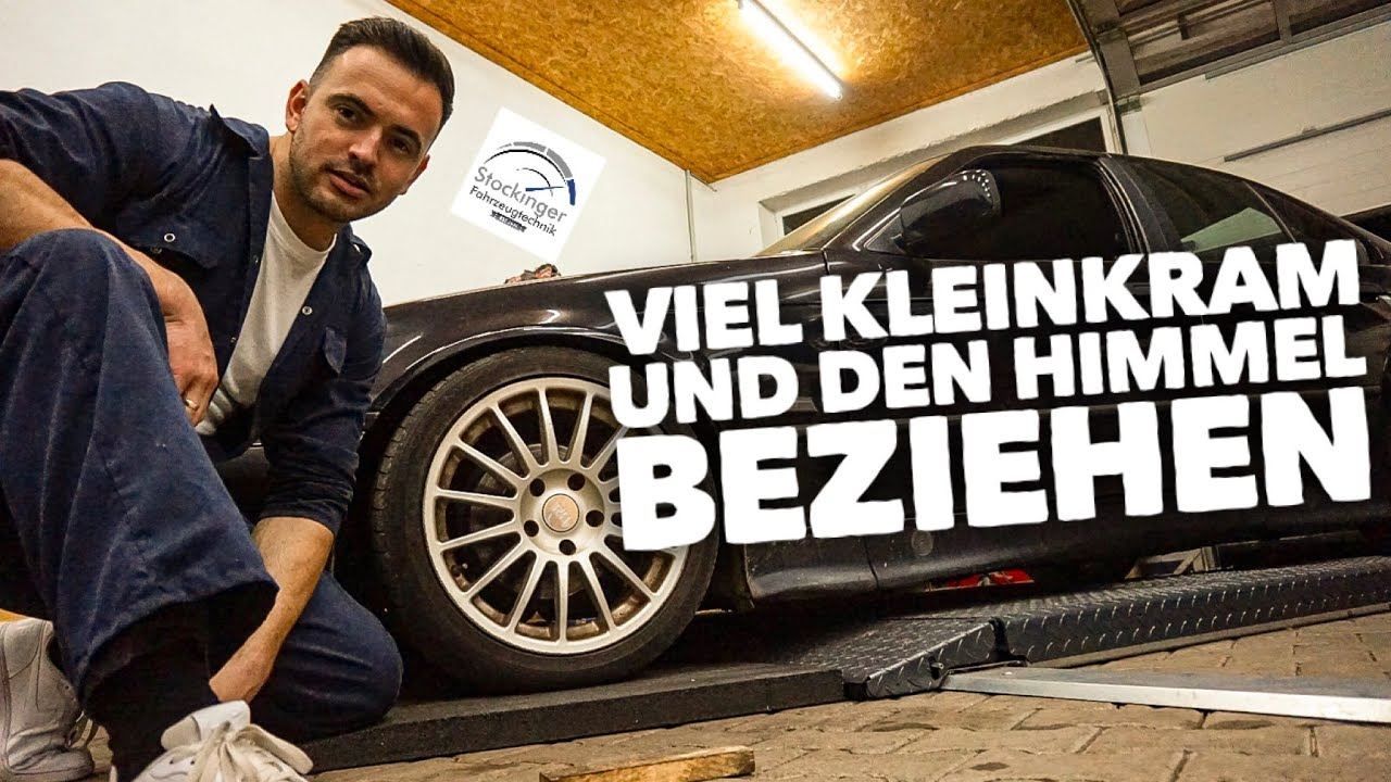 BMW E36 Low Budget Projekt   Dachhimmel neu beziehen  3/10