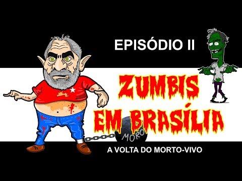 Zumbis em Brasília: sátira com candidatos à presidência