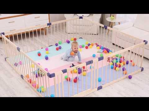 10 Складной Детский манеж с Алиэкспресс AliExpress Folding Playpen Toy Крутые вещи из Китая Игрушки