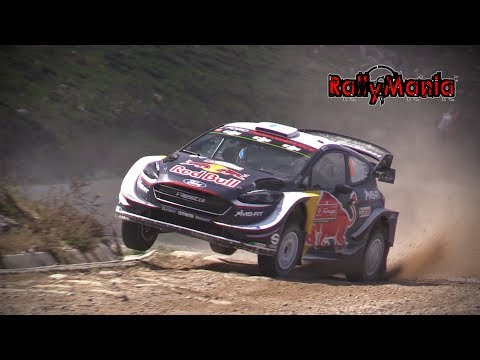 WRC Vodafone Rali de Portugal 2018 - FLAT OUT & BIG SHOW [HD]