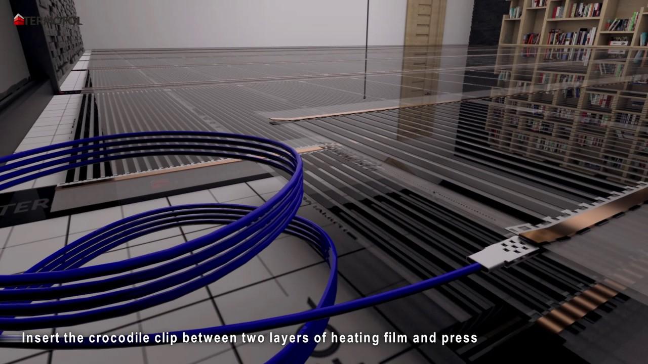 Heating Film Termofol Visualization Of The Installation