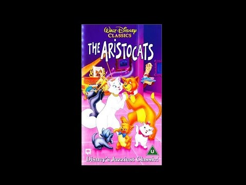 Opening to The Aristocats UK VHS [1995]