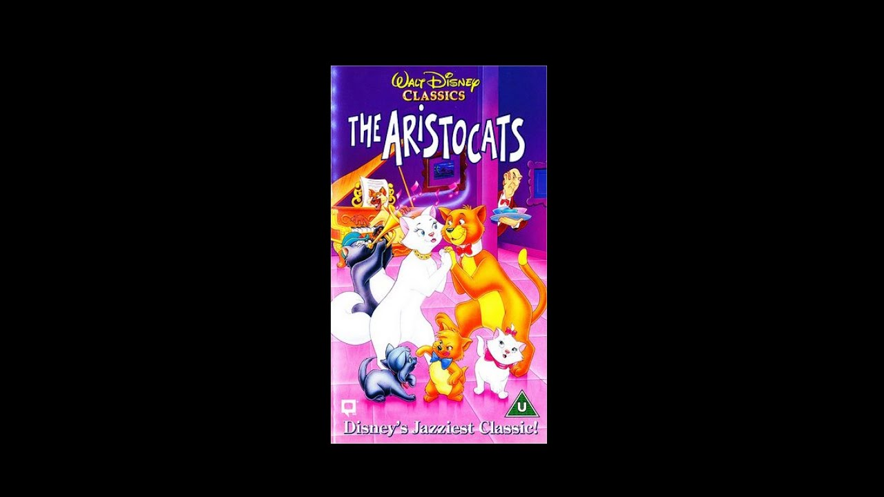 Opening to The Aristocats UK VHS [1995] - YouTube