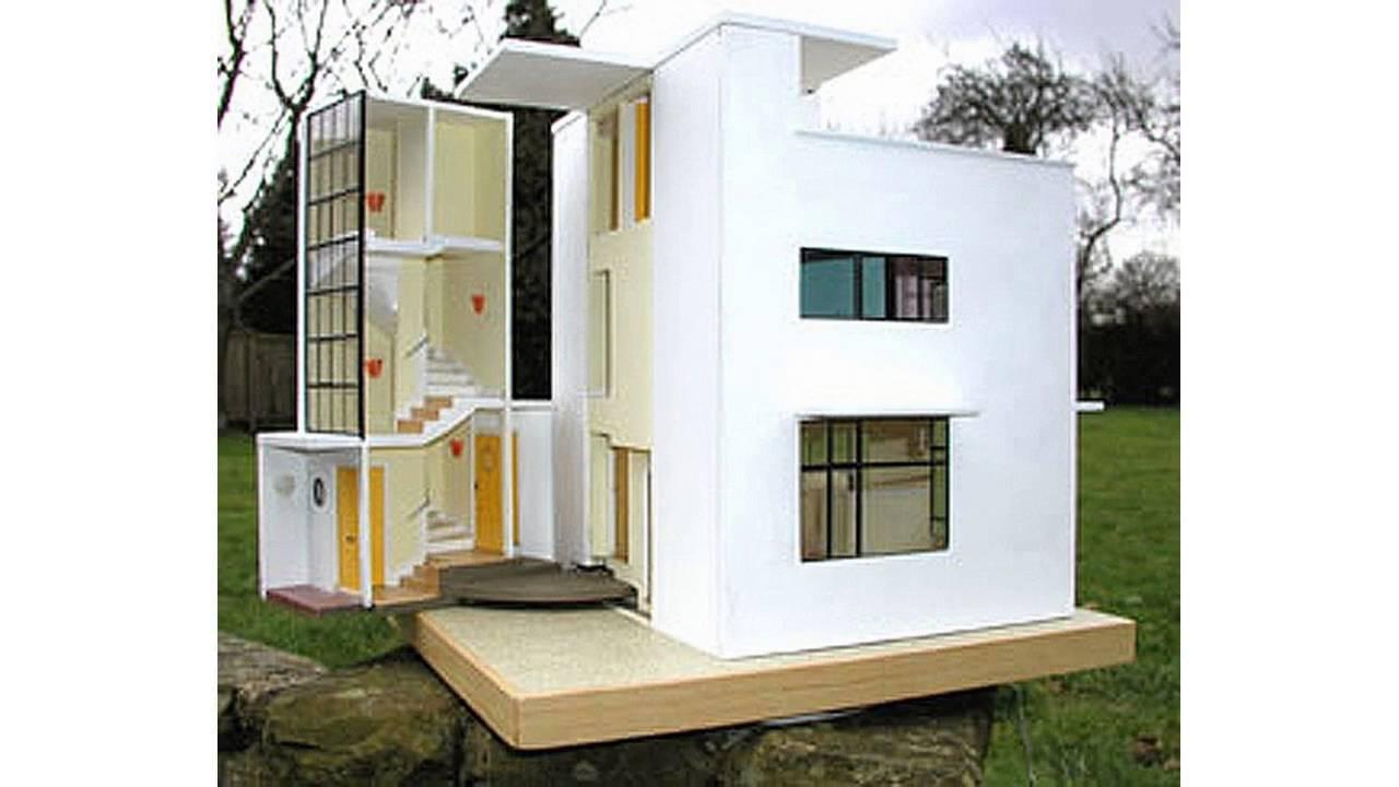 Modern dolls house furniture design youtube