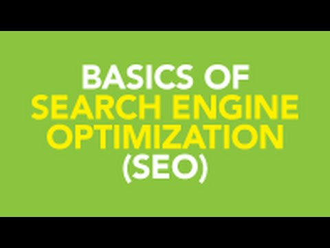 What is Search Engine Optimization? - Basics of SEO