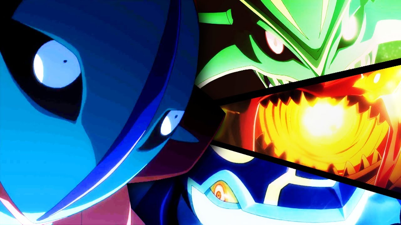 Primal groudon vs primal kyogre vs mega rayquaza vs deoxys amv this ain 39 t the end of me - Pictures of groudon and kyogre ...