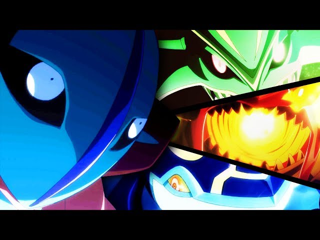 Primal Groudon vs Primal Kyogre vs Mega Rayquaza vs Deoxys「AMV」- This Ain't The End Of Me - Pokemon