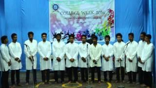 Diya ghurai diya college week chorus 2016