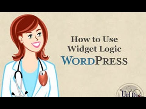 WordPress Tutorial Video - How to Use Widget Logic Plugin