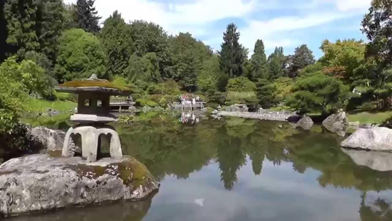 Japanese Garden in Washington Park Arboretum Seattle - \