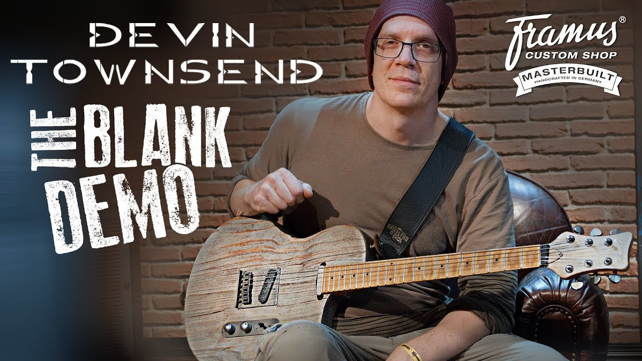devin townsend and the new framus blank youtube. Black Bedroom Furniture Sets. Home Design Ideas