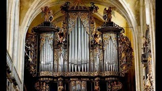 XAVER VARNUS PLAYS BACH ON SAUER ORGAN - SIBIU LUTHERAN CATHEDRAL IN ROMANIA