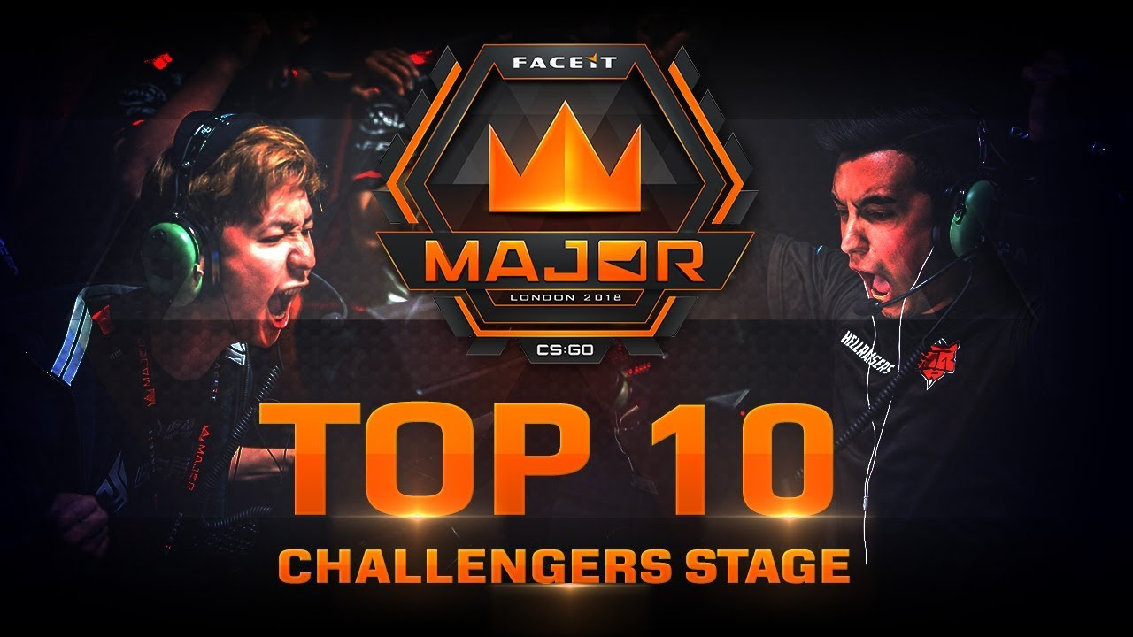 TOP 10 Plays of Challengers Stage (FACEIT Major: London 2018) Galerisi