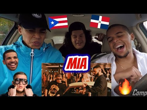 Bad Bunny feat Drake - Mia     REACTION REVIEW